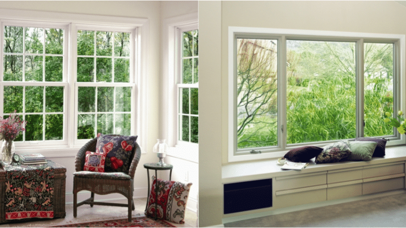 Double-Hung Vs. Casement Windows