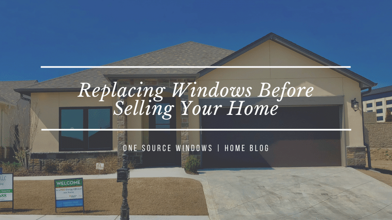 Is It Worth Replacing Windows Before Selling a House