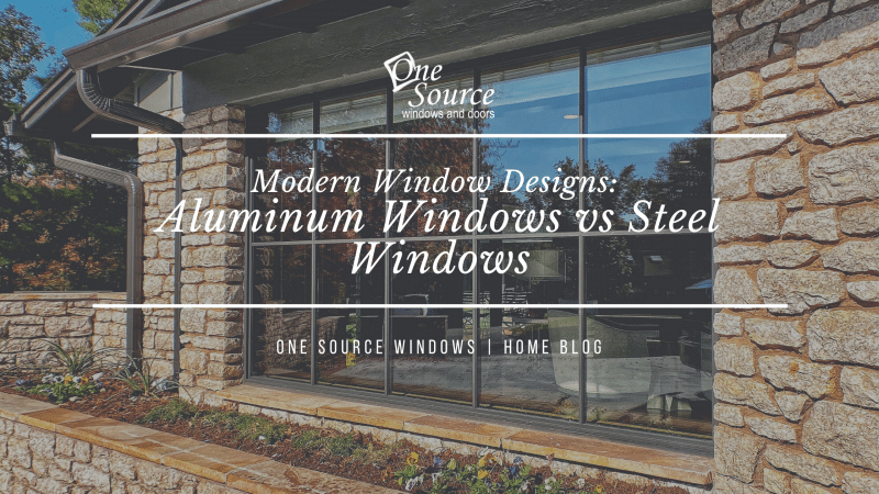 Modern Window Designs Aluminum Windows vs Steel Windows